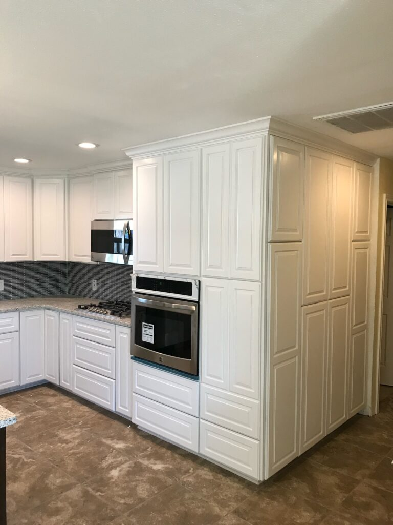 Hite Kitchen with wall oven