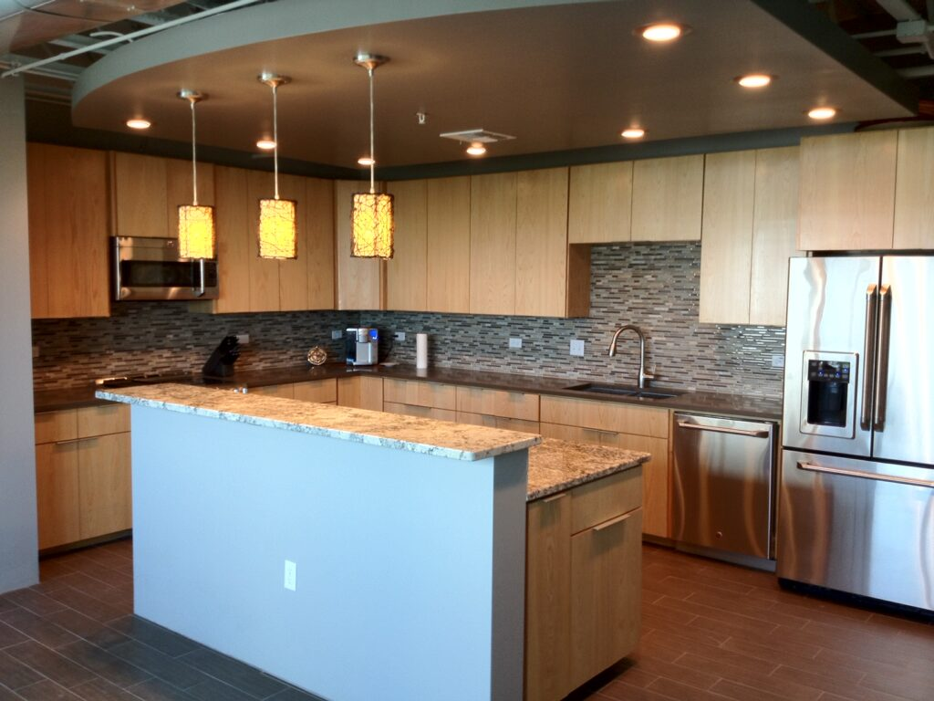 Custom kitchen built and designed by Gentry
